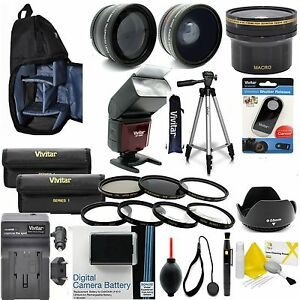 CANON-EOS-REBEL-T6-LP-E10-EVERYTHING-YOU-NEED-PROFESSIONAL-LENS-FILTER-FLASH-KIT