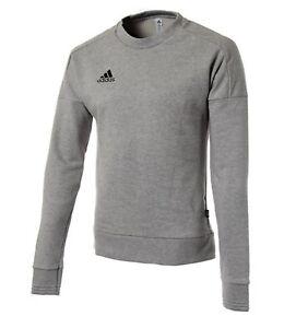 watch e1e62 7a320 Image is loading Adidas-Men-Tango-Crew-Shirts-L-S-Sweater-Gray-