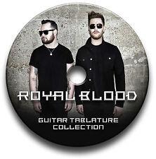 ROYAL BLOOD ROCK BASSO ELETTRICO INTAVOLATURE CANTO BOOK CD SOFTWARE