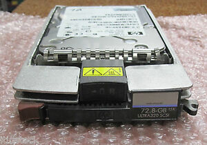 HP-73GB-15k-3-5-034-Ultra-320-SCSI-HDD-Disco-Rigido-Con-ProLiant-Caddy-356914-002