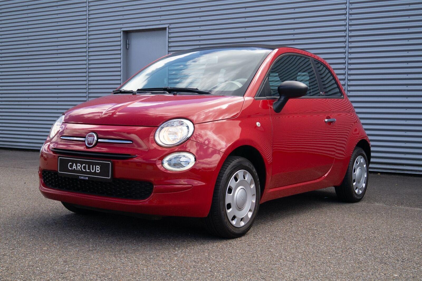 Fiat 500C 1,2 Pop 2d - 109.900 kr.