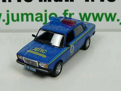 Lada VAZ 2107 Ukraine Police 1:43 Ist Diecast Model Car PM48