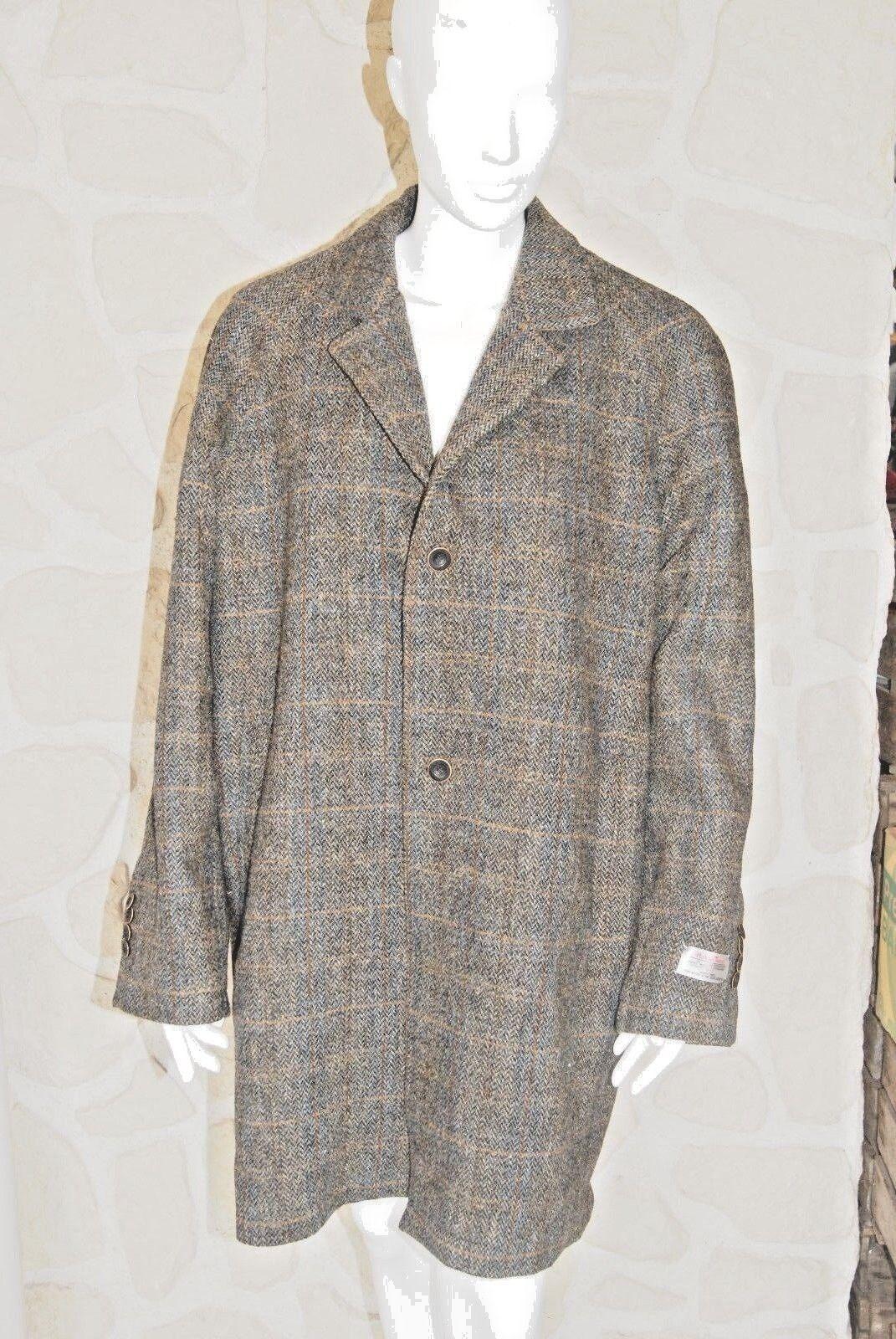 Manteau pure laine neuve taille 52-54 EUR marque HARRIS TWEED
