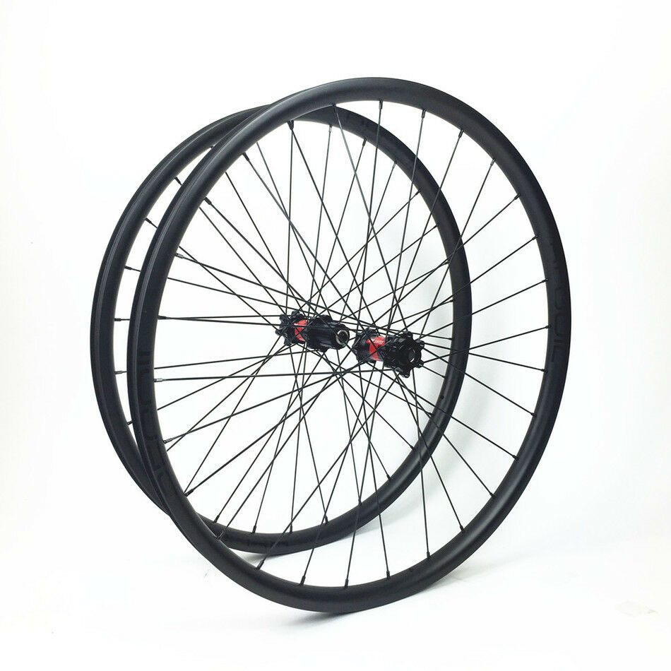 DT 240s 29er 33mm asymmetric Carbon MTB Wheels for AM XC Tubeless Compatible