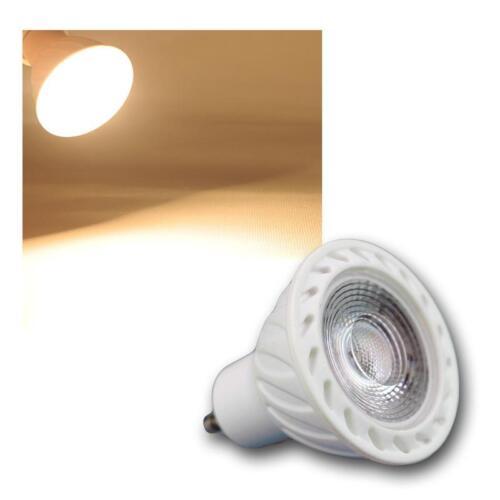 5 x GU10 LED Leuchtmittel COB 7W warmweiß 500lm Reflektor Strahler Lampe Birne