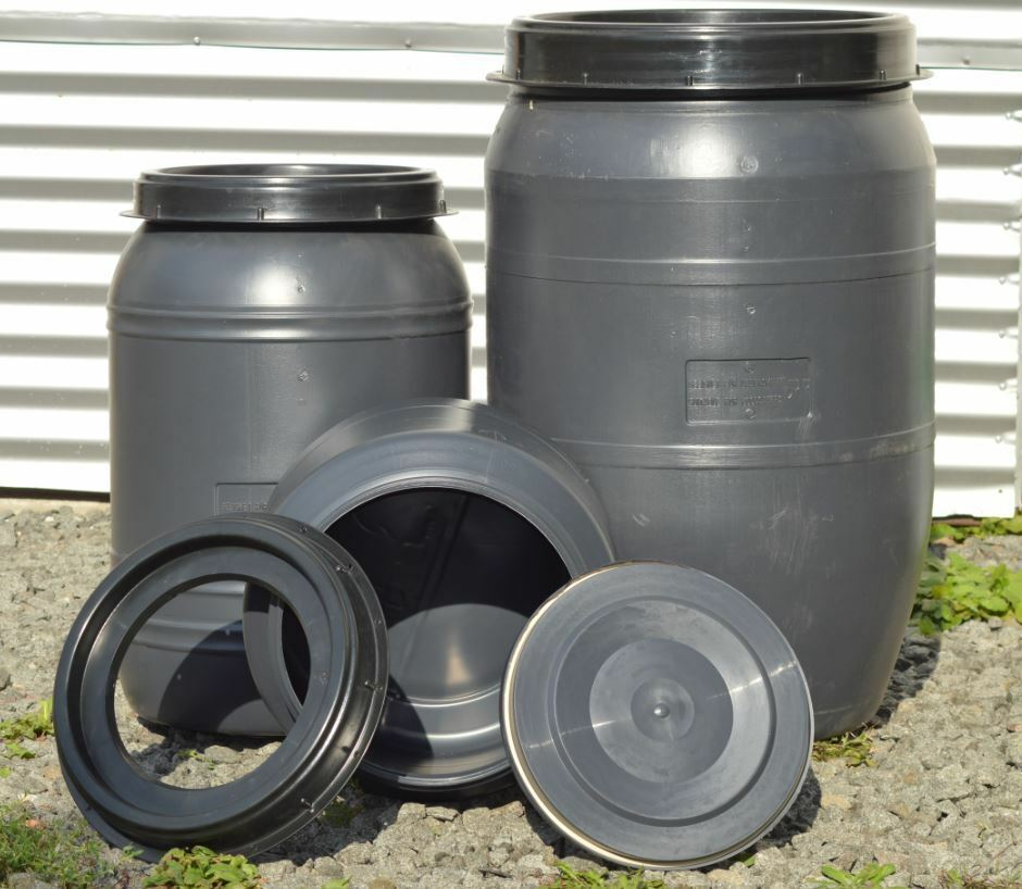 30-120 Liter Weithalsfass Kanutonne Stiefeltonne Outdoorbehälter Segel Box Fass
