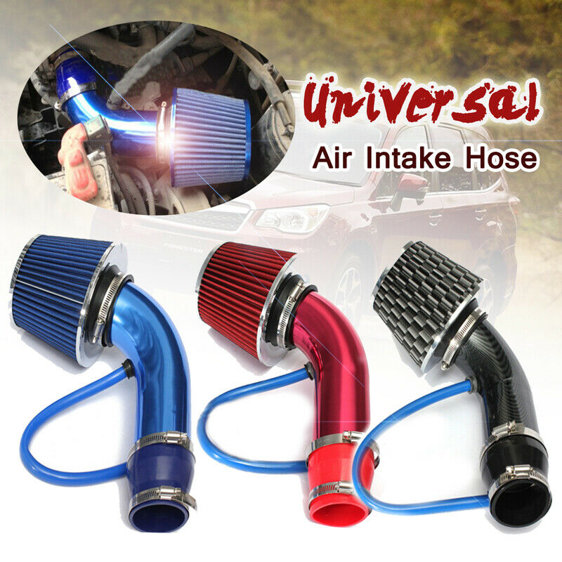 UNIVERSAL PERFORMANCE COLD AIR FEED PIPE AIR FILTER KIT CHROME 2103CH-VXL1
