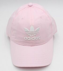 2f74331fc2a Adidas Originals Trefoil Caps Running Hat Pink OSFW OSFM Hats Cotton ...