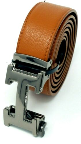 Men/'s Fashion Genuine Leather Track Belt One Size Fits FREE SHIPPING FROM USA