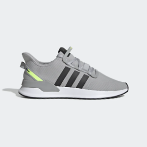 Adidas-Originals-Men-039-s-U-Path-Run-Shoes-NEW-AUTHENTIC-Grey-Black-EE4471
