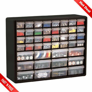 Nut And Bolt Storage Cabinet Small Parts Bin Drawer Hardware Craft