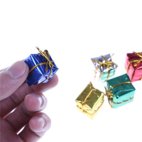 10X Dollhouse Miniature Box Christmas Dollhouse Decoration Gift Toy buye.\