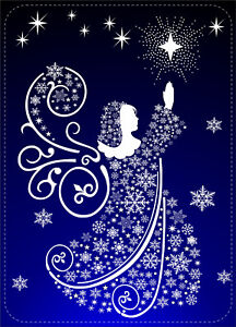 ANGELO-Stelle-Fiocchi-di-Neve-Natale-Adesivo-Decalcomania-Casa-Decorazione-da-finestra