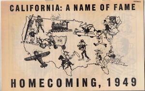 rare-original-1949-California-A-Name-Of-Fame-Homecoming-program-Cal-Berkeley