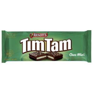 Arnott's Tim Tam Chocolate Mint Biscuits 160 gram