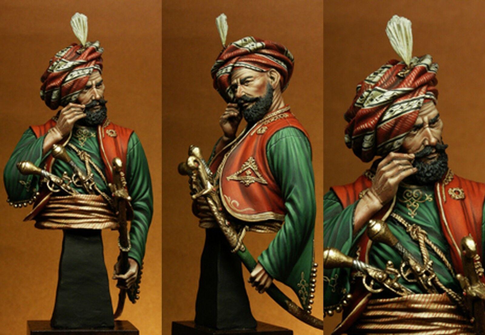 YS Masterpieces Turkish General Ibrahim Pasha 1 9th Unpainted bust kit CARL REID