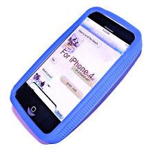 Bumper Frame Case Cover Handy Hülle Schutz Rahmen  für Apple iPhone 4G in BLAU