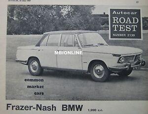 1967-Frazer-Nash-BMW-2000-Original-Autocar-magazine-Road-test