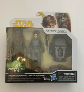 STAR WARS FORCE LINK 2.0 ACTION FIGURE BUNDLE OF 6 FIGURES NEW Chewbacca HASBRO