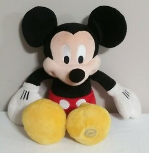 Disney-Store-Mickey-Mouse-Plush-Toy-Doll-Stuffed-Animal-Authentic-18-034