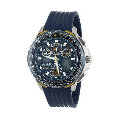 Citizen Eco-Drive Men's JY0064-00L Blue Angels Skyhawk Atomic Watch