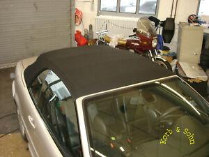 Jaguar Cabrio Verdeck Reparatur Set Repair Kit inkl Kleber Anwendungs CD!