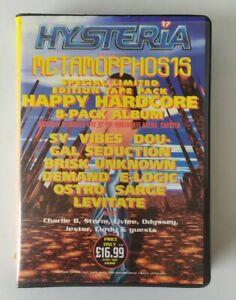 Rave Tape 8 Pack Old Skool Techno Hysteria 17 Metamorphosis Northgate Chester