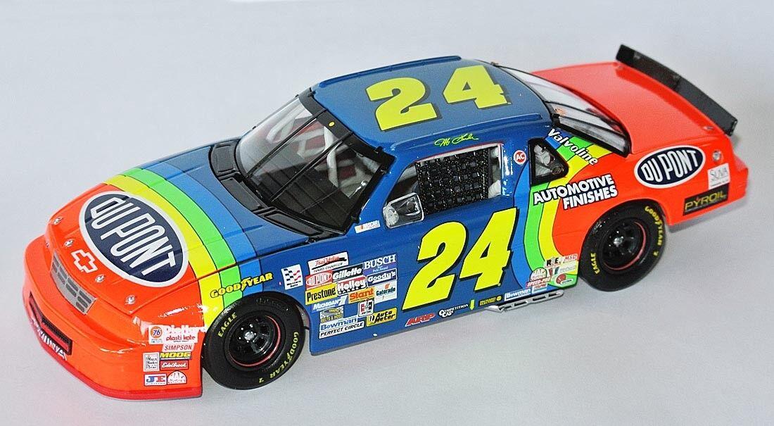 Chevy NASCAR 1993  dupont  jeff gordon - 1 24 Daytona Twin 125 Winner