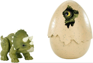 Mattel-Jurassic World-Hatch /'n Play Dinos-Triceratops-Neuf