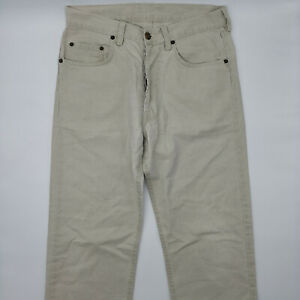 Marlboro-Classics-Pasadena-301-W30-L30-beige-Herren-Jeans-Designer-Denim-Retro