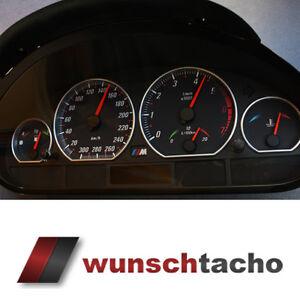 Tachoscheibe-fuer-Tacho-BMW-E46-Benziner-Vamp-300-kmh