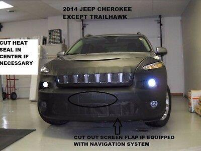 2014-2018 Lebra Front End Cover Bra Mask Fits Dodge Durango Exc. R//T /& Rallye