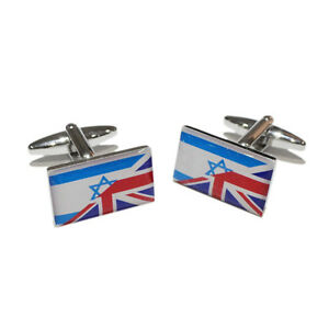 Image Is Loading Union Jack British Amp Israeli Israel Hebrew Jew