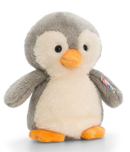 Plüschtier Pinguin Baby Perri grau Kuscheltier Pippins 14cm Stofftier ca