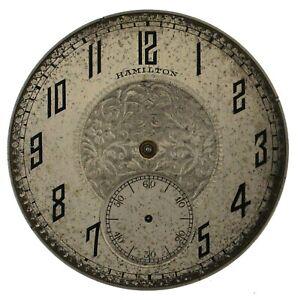 Hamilton-Pocket-Watch-Movement-12s-17j-OF-Grade-912-Model-2-Year-1924