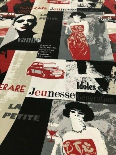 prestigious textiles fabric st tropez retro cotton curtain blind upholstery