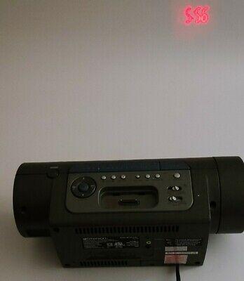 Emerson iC172 Smart Set Dual Alarm Clock Projector AM/FM ...