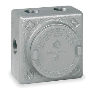 Details about Killark GRSS-1 Explosion Proof Junction Box with (7x) 1/2