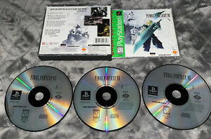 Final Fantasy VII (Playstation 1 PS1) GREATEST HITS Tested