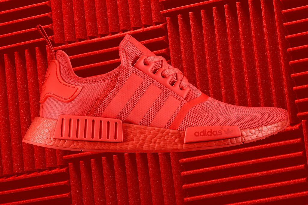674a4a3728418 adidas NMD R1 Solar Red Size 12.5 DS Yeezy Boost for sale online