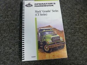 mack granite service manual