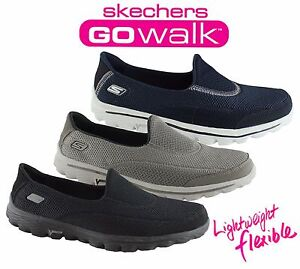 SKECHERS-WOMENS-GO-WALK-2-COMFORTABLE-LIGHTWEIGHT-CASUAL-SHOES-SNEAKERS