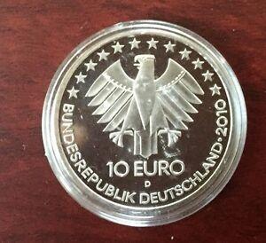 10 Euro 175 Jahre Deutsche Eisenbahn 2010 Münzen Sammler Ebay