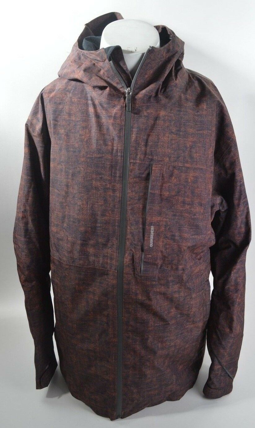 MENS QUIKSilber INYO INSULATED JACKET  380 L deep woods melange USED