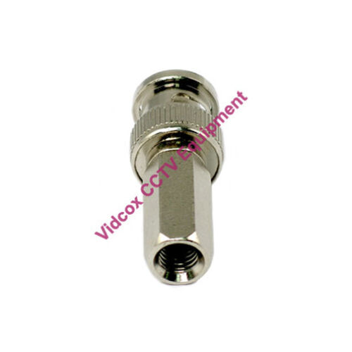 20X Twist On Male Coaxial Cable BNC Connector Plug Jack for CCTV Security Camera