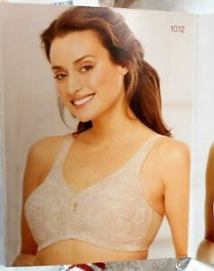 2933a080582 2 NEW Nude Glamorise Plus Size Magic Lift Bras 50H Full Figure wire ...