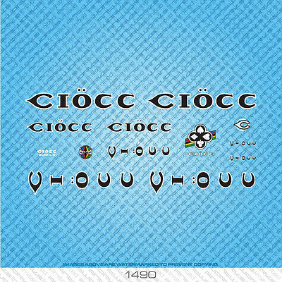 Transfers Ciocc Bicycle Decals Stickers n.1