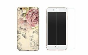 coque iphone 8 pivoine