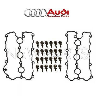 Audi A6 A4 Quattro V6 3.2L Valve Cover Gasket Driver Left Genuine 06E103483G NEW