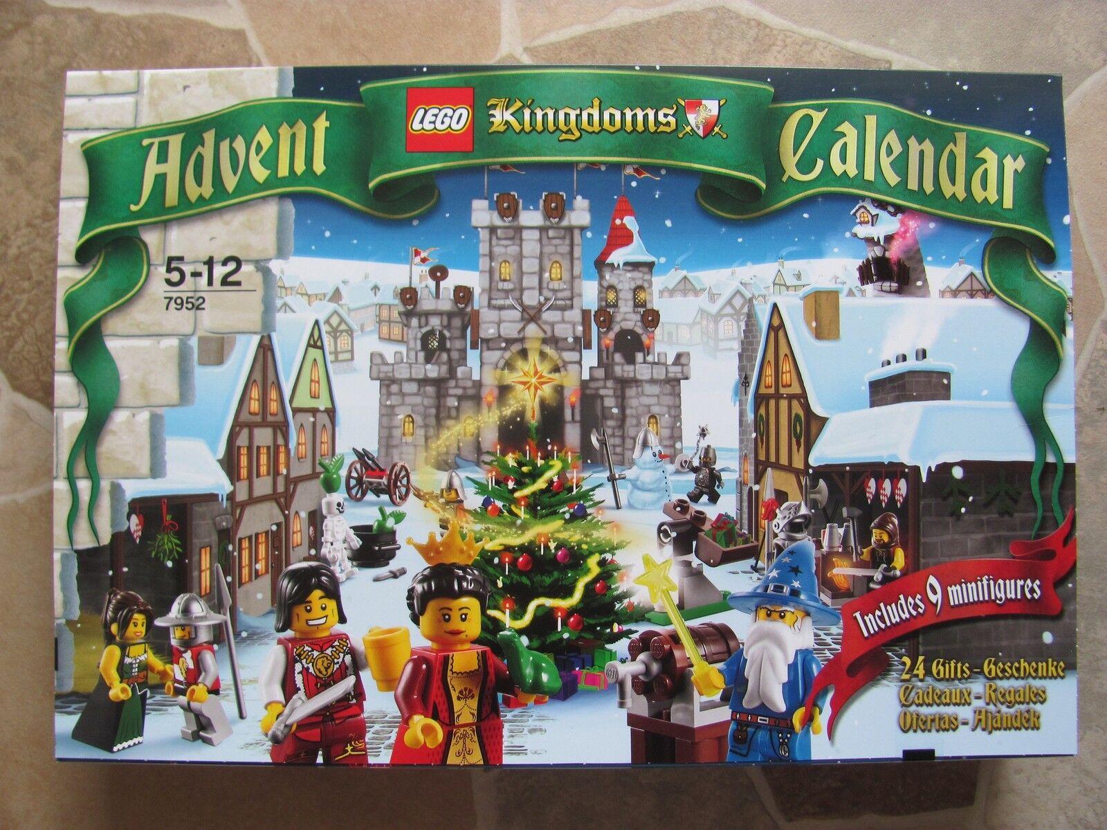 Lego calendrier de l'avent Kingdoms 7952 V 2010 RARE RARE NOUVEAU & NEUF dans sa boîte